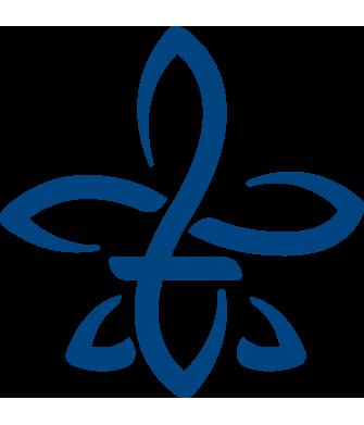 flor de lis azul hooponopono