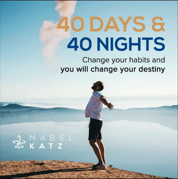 producto 40 dias 40 noches mabel katz hooponopono