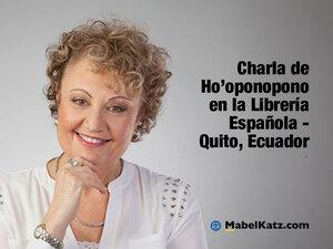 charla hooponopono ecuador mabel katz
