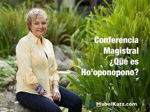 conferencia magistral sobre hooponopono argentina mabel katz