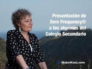 presentacion zero frequency argentina mabel katz