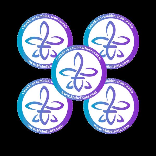 autoadhesivos-colores-5-stickers-suelta-y-confía-hooponopono-mabel-katz