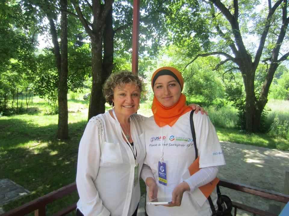 En Sarajevo en el Eventos de la Paz