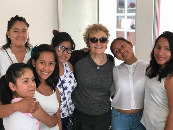 Encuentro con niñas en la Casa de Las Mercedes, CDMX- México