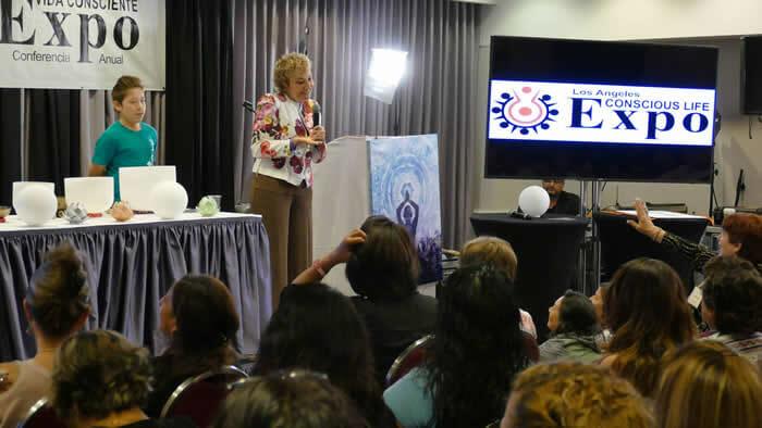 Expo Conferencia Vida Consciente, Los Angeles-Estados Unidos