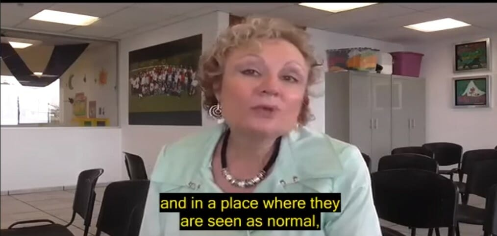 Mabel Katz en Organizacion Kadima
