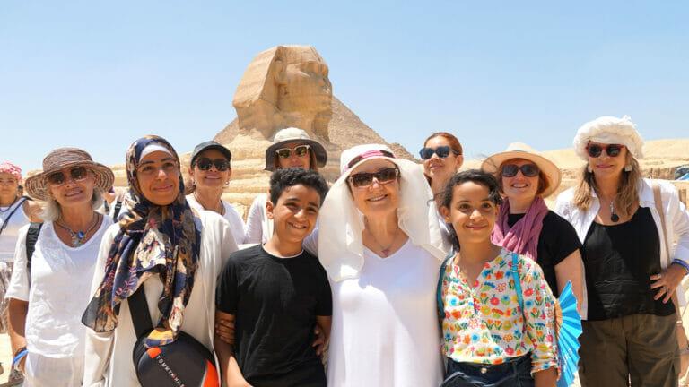 Mabel en Egipto
