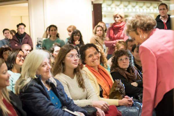 Presentacion en El Ateneo, Buenos Aires- Argentina
