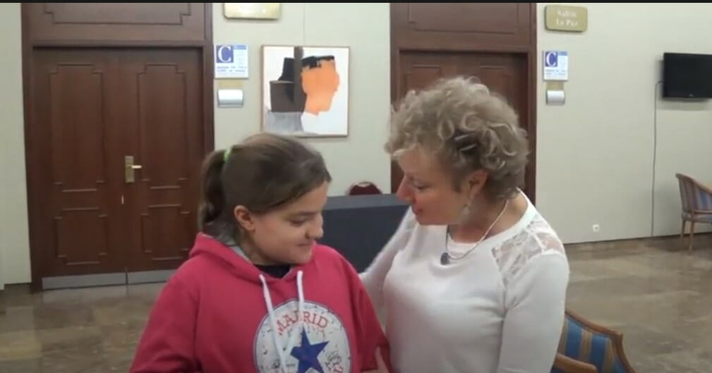 Testimonio de Hooponopono en el colegio Seminario de Madrid Mabel Katz 1