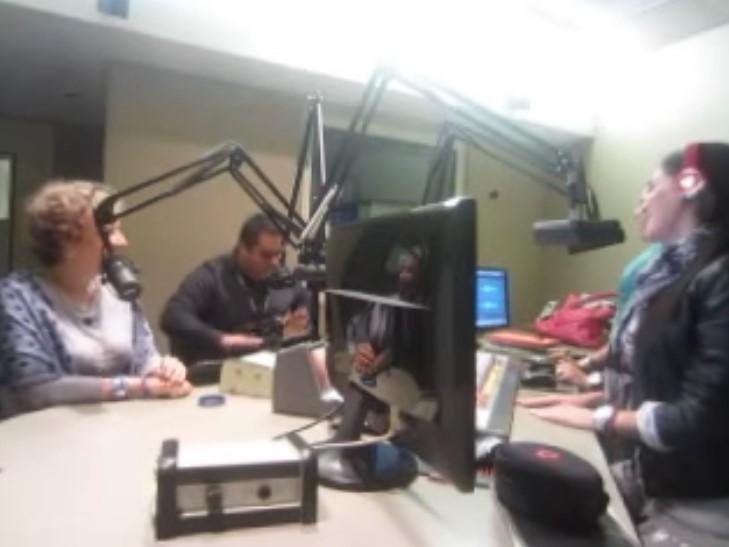 Entrevista de Radio El pajarete con Armida y La Flaka