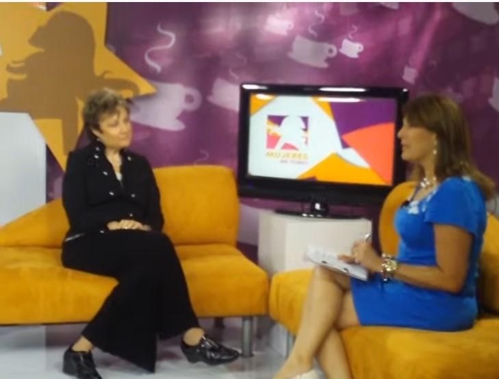 Mabel Katz Entrevista en GloboVision Caracas Venezuela 1 2