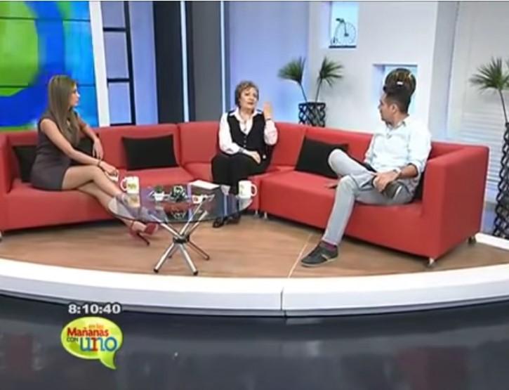 Mabel Katz Entrevista en el programa Las Mananas con Uno Colombia