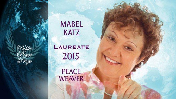 Receives Public Peace Prize - Mabel Katz - Hooponopono Way