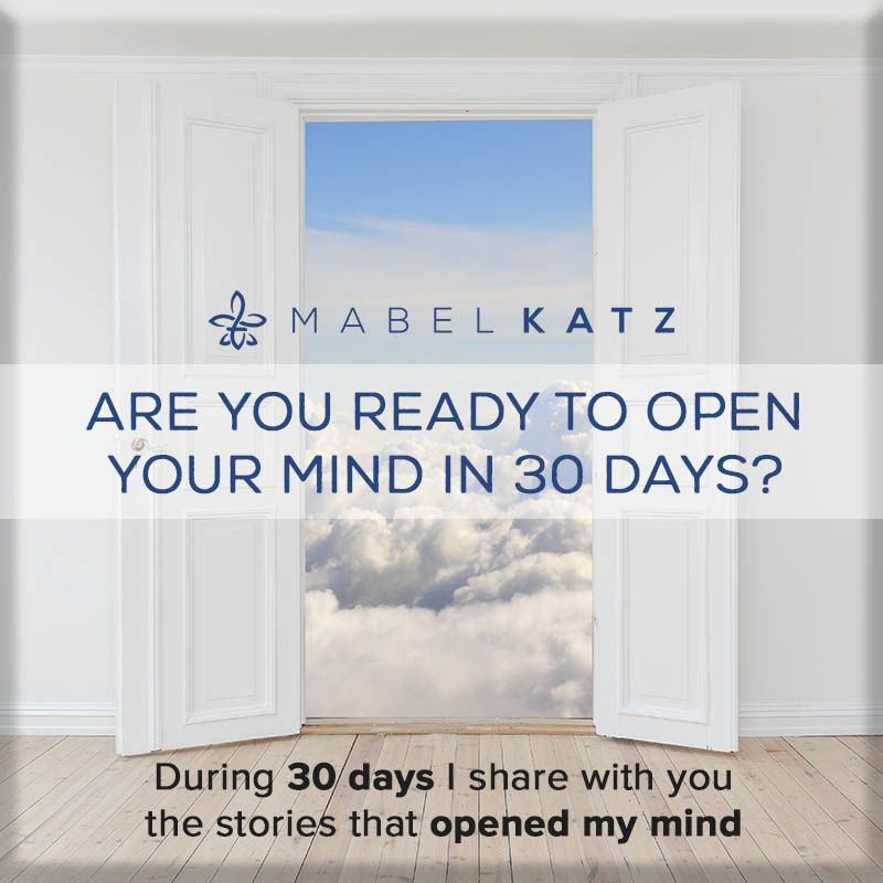Are you ready to OPEN up YOUR MIND in 30 Days?