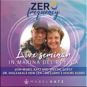 Zero Frequency LIVE Seminar in Marina del Rey, CA