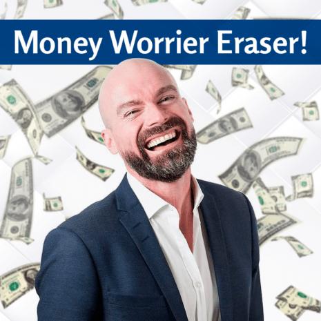 Money Worrier Eraser!