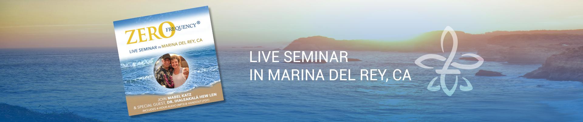 seminar in Marina del Rey