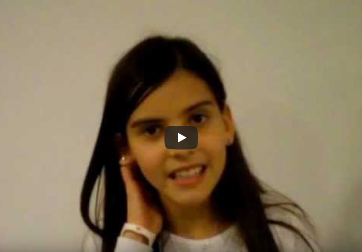 Testimonio de una Nina sobre El Seminario de Hooponopono. Testimony of a girl in Prague.